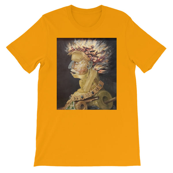 "Guseppe Arcimboldo ""Four Elements Fire"" Short-Sleeve Unisex T-Shirt"