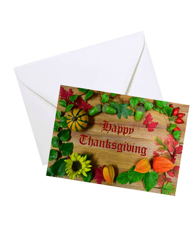 Thanksgiving Greeting Card #1