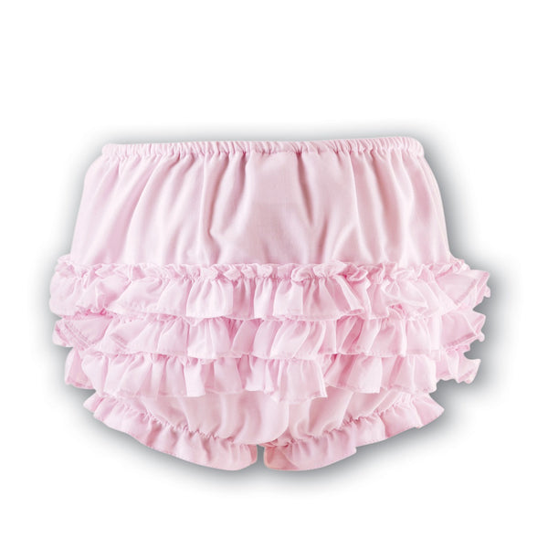 Baby Girls Frilly Knickers Pink
