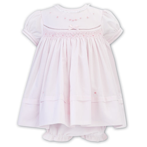 Pink White Dress & Panty 011805 - Kizzies, Dresses - Childrens Wear