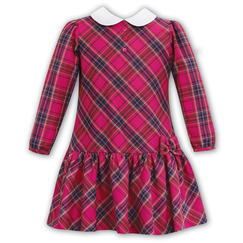 Sarah Louise Red Tartan Dress - Kizzies