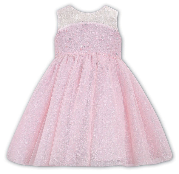 Sarah Louise 070022 Pink Dress - Kizzies, Dresses - Childrens Wear