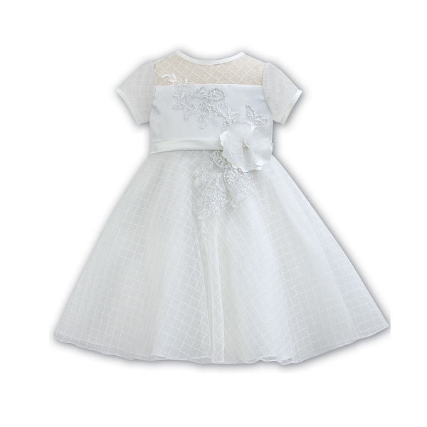 Ceremonial Ballerina Length Dress 70059 White - Kizzies, Dresses - Childrens Wear