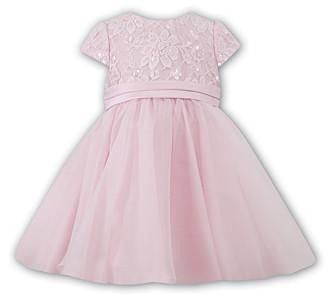 Sarah Louise 70066 Pink Ballerina Length Dress | Kizzies