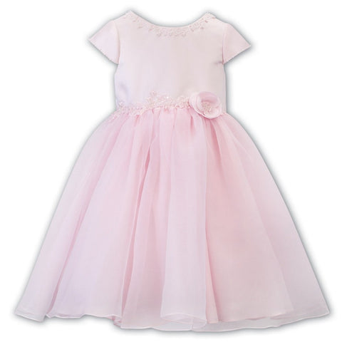 Ceremonial Ballerina Length Dress 070142 Pink - Kizzies, Dresses - Childrens Wear