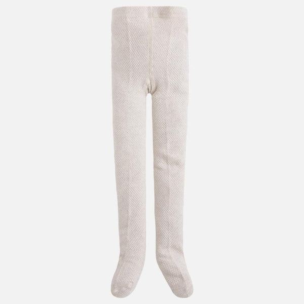 Girls 10276 Beige Glitter Tights - Kizzies, Tights - Childrens Wear