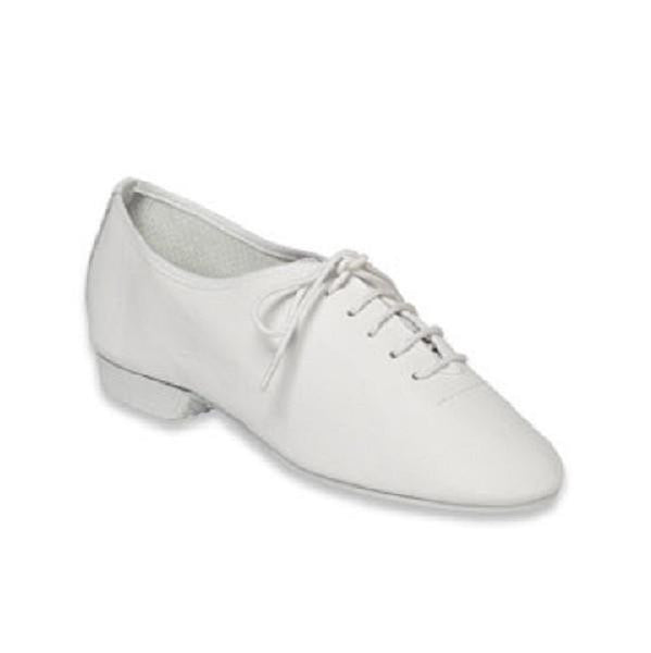 Essential White Full Sole Jazz Shoe - Kizzies, Jazz Shoes - Childrens Wear