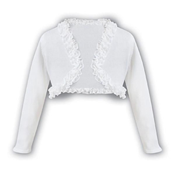 Soft Knit Bolero White - Kizzies, Cardigans - Childrens Wear