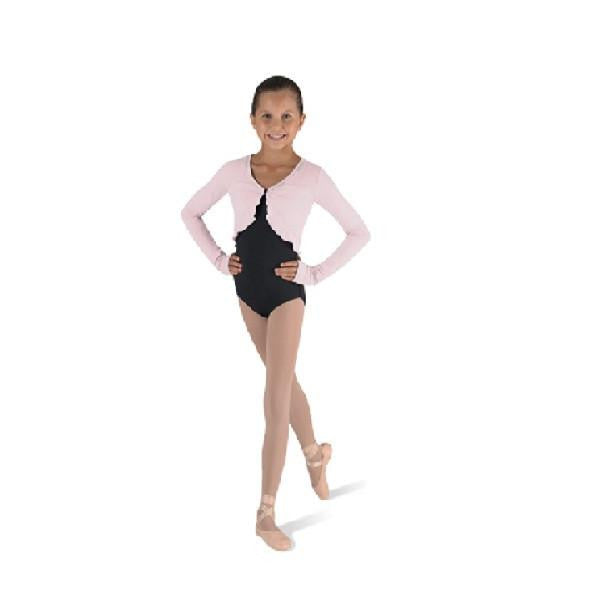 Bloch CZ9099 Girls Long Sleeved Top - Kizzies, Top - Childrens Wear