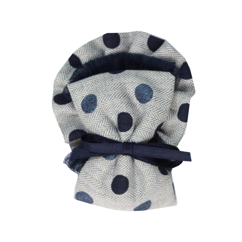 Miranda Hairclip Grey/Navy 144P