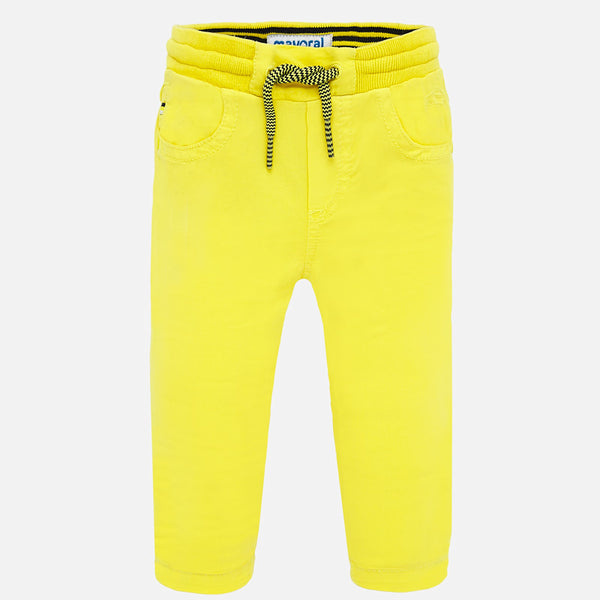 Baby Boys 1547 Yellow Trousers - Kizzies, Trousers - Childrens Wear