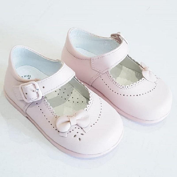 LEON GIRLS PINK SHOES | Kizzies