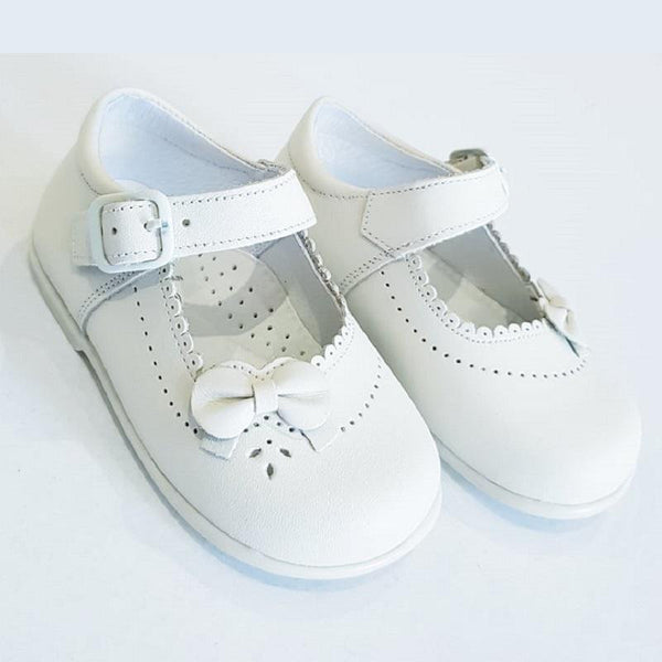 LEON GIRLS WHITE SHOES