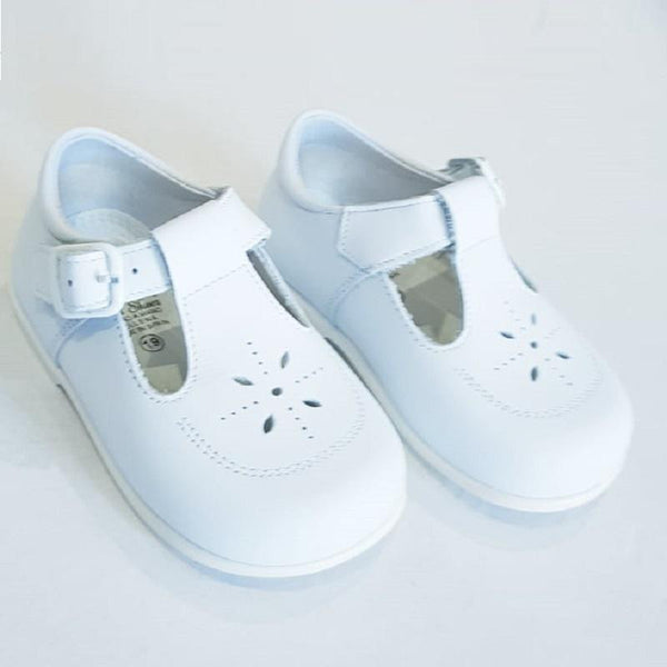 LEON BOYS CLASSIC WHITE SHOES | Kizzies