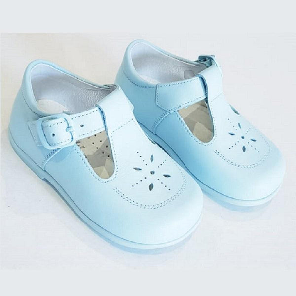 LEON BOYS CLASSIC PALE BLUE SHOES