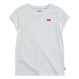 LEVIS GIRLS White Batwing T-Shirts - Kizzies