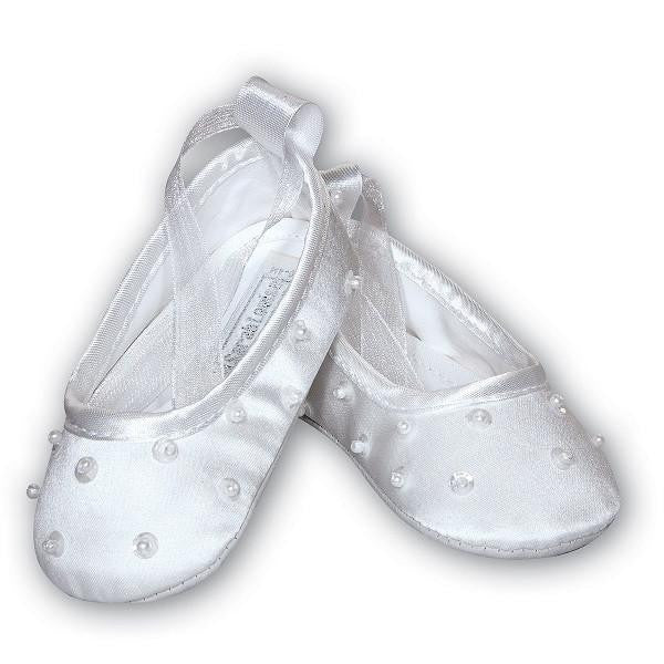 Baby Girls Satin Ballerina Shoes - Kizzies, Shoes - Childrens Wear