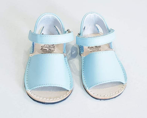 LEON CLASSIC PALE BLUE SANDALS | Kizzies