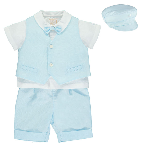 Perry Baby Boys 3 Piece Outfit - Kizzies, Outfits - Childrens Wear