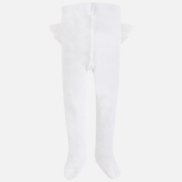 Baby Girls 9760 Ruffle Tights - Kizzies, Tights - Childrens Wear