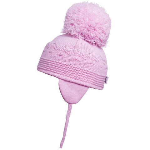 Satila Belle Pink Pom Pom Hat - Kizzies, Hats - Childrens Wear