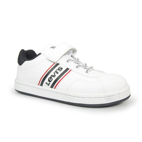 BRANDON KIDS TRAINERS White