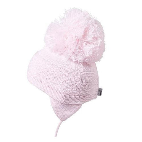 Satila Diamond Pink Pom Pom Hat - Kizzies, Hats - Childrens Wear