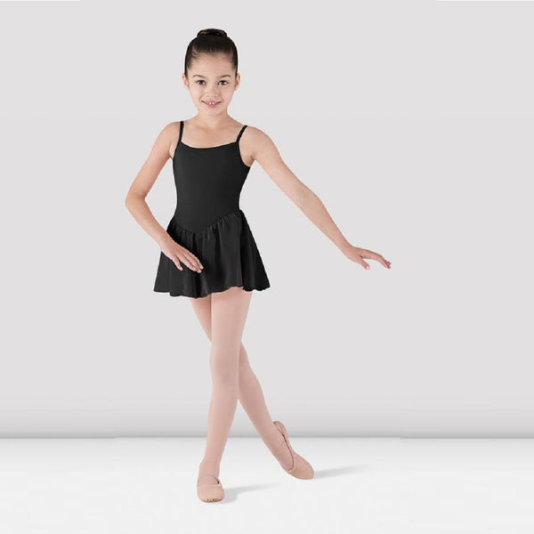 Leotard with attached skirt CL3977 Black - Kizzies - Dancewear