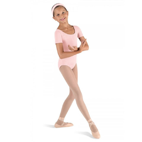 Short Sleeve Leotard Pink - Kizzies, Leotards - Childrens Wear