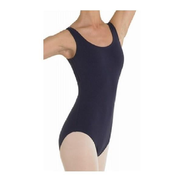 Ladies L5405 Black Tank Leotard - Kizzies, Leotard - Childrens Wear