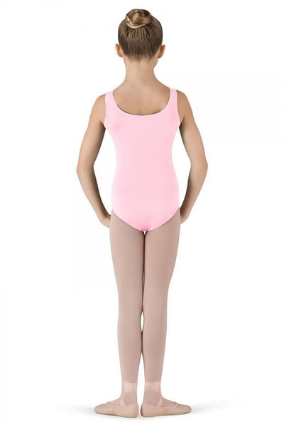 Round Neck Tank Leotard Pale Pink - Kizzies, Leotard - Childrens Wear