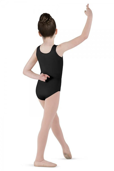 White Dynamic Tank Leotard - Kizzies, Leotard - Childrens Wear