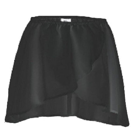 Black Wrap Skirt - Kizzies, Skirts - Childrens Wear