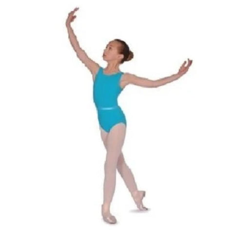 Roch Valley CJune Aqua Leotard - Kizzies, Leotards - Childrens Wear