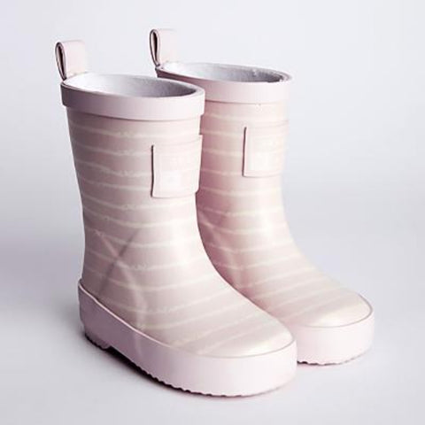 G&A Mini Adventure Stripe Boots Pink