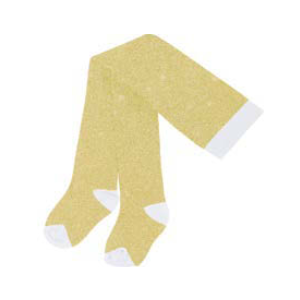 Billieblush U10275 Gold Glitter Tights - Kizzies, Tights - Childrens Wear