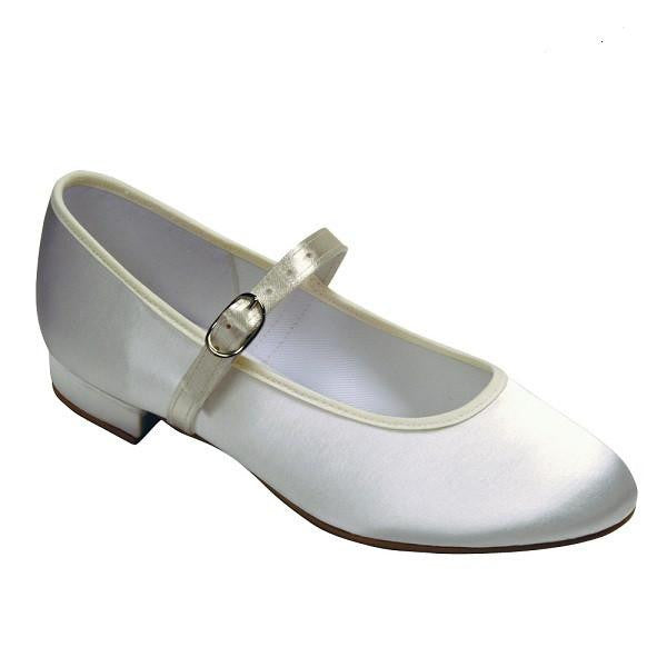 Bridal Satin Shoes Holly - Kizzies, Shoes - Childrens Wear