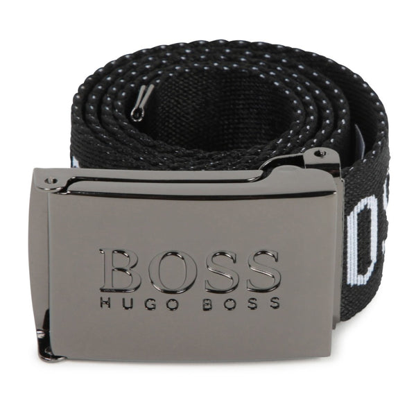 BOSS KIDS Belt Black