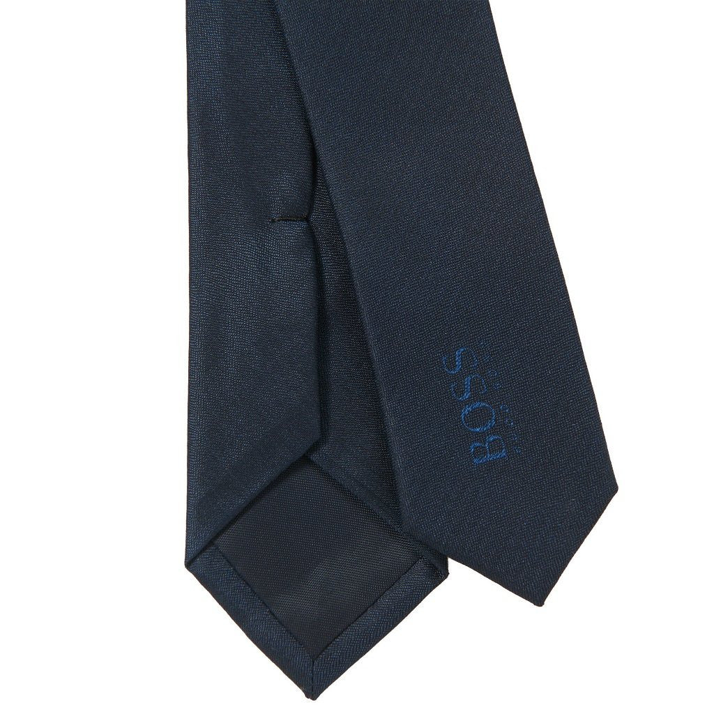 BOSS J20Z02 NAVY SILK TIE - Kizzies, Accessories - Childrens Wear