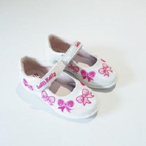 Princess Charlene Pearly White Shoes - Kizzies, Shoes - Childrens Wear