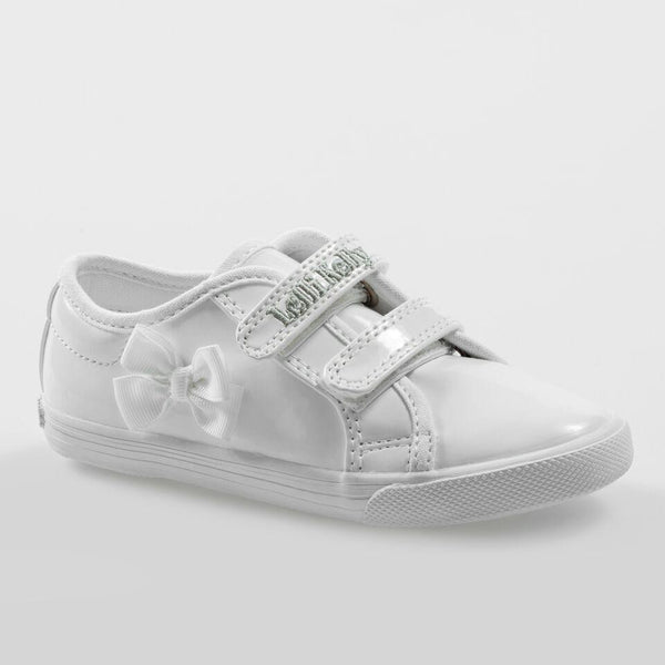 Lelli Kelly LK8199 White Patent Pumps - Kizzies, Shoes - Childrens Wear