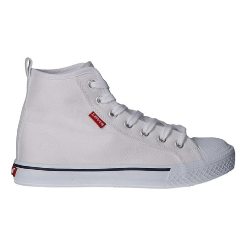 Levi's Kids Maui H2 Hi Top White - Kizzies, Trainers - Childrens Wear