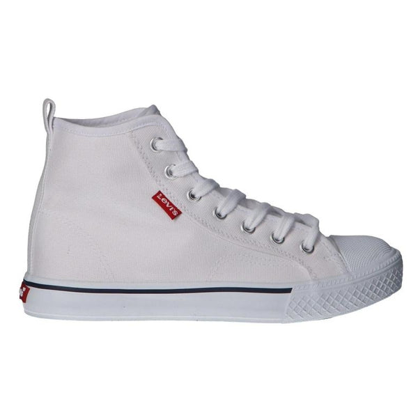 Levi's Junior Maui H2 Hi Top White - Kizzies, Trainers - Childrens Wear