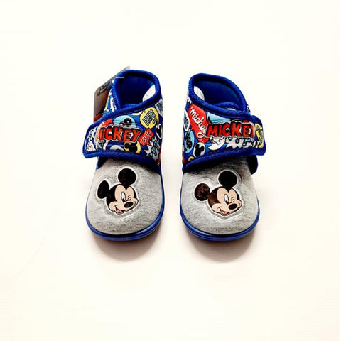 Mickey Mouse Slippers Blue
