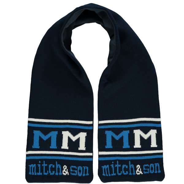 Mitch & Son Spaceman Navy Blue Scarf MS1230S | Kizzies