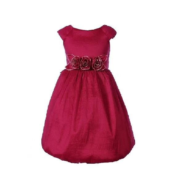 Red Taffeta Dress - Kizzies, Dresses - Childrens Wear