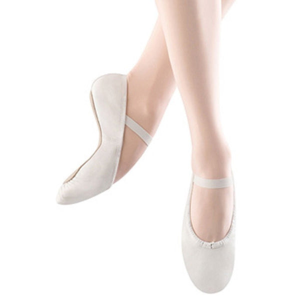 Bloch S0205 Dansoft White Ballet Shoes | Kizzies