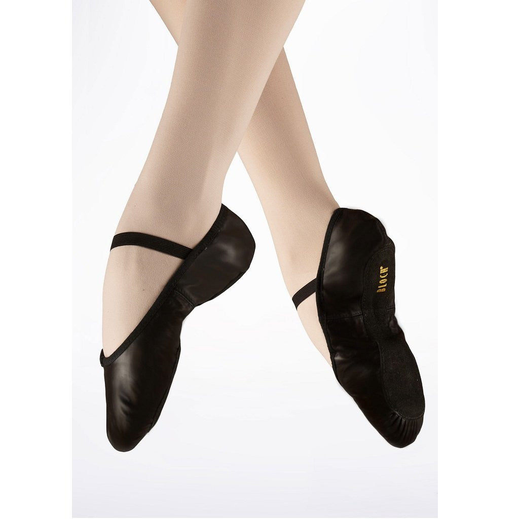 Bloch S0209 Arise Full Sole Black Ballet Shoe - Kizzies, Ballet Shoes - Childrens Wear