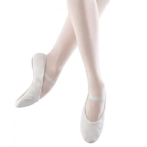 Arise Full Sole White Ballet Shoes