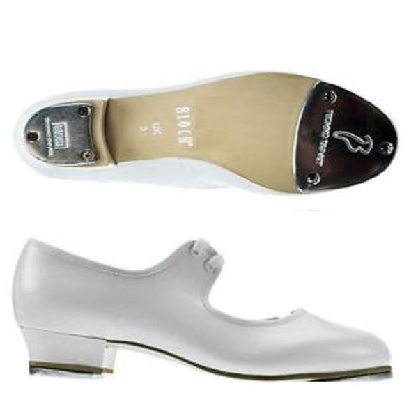 Bloch S0330 White Timestep Double Techno Tap Shoes | Dance Shoes West Lothian | Kizzies